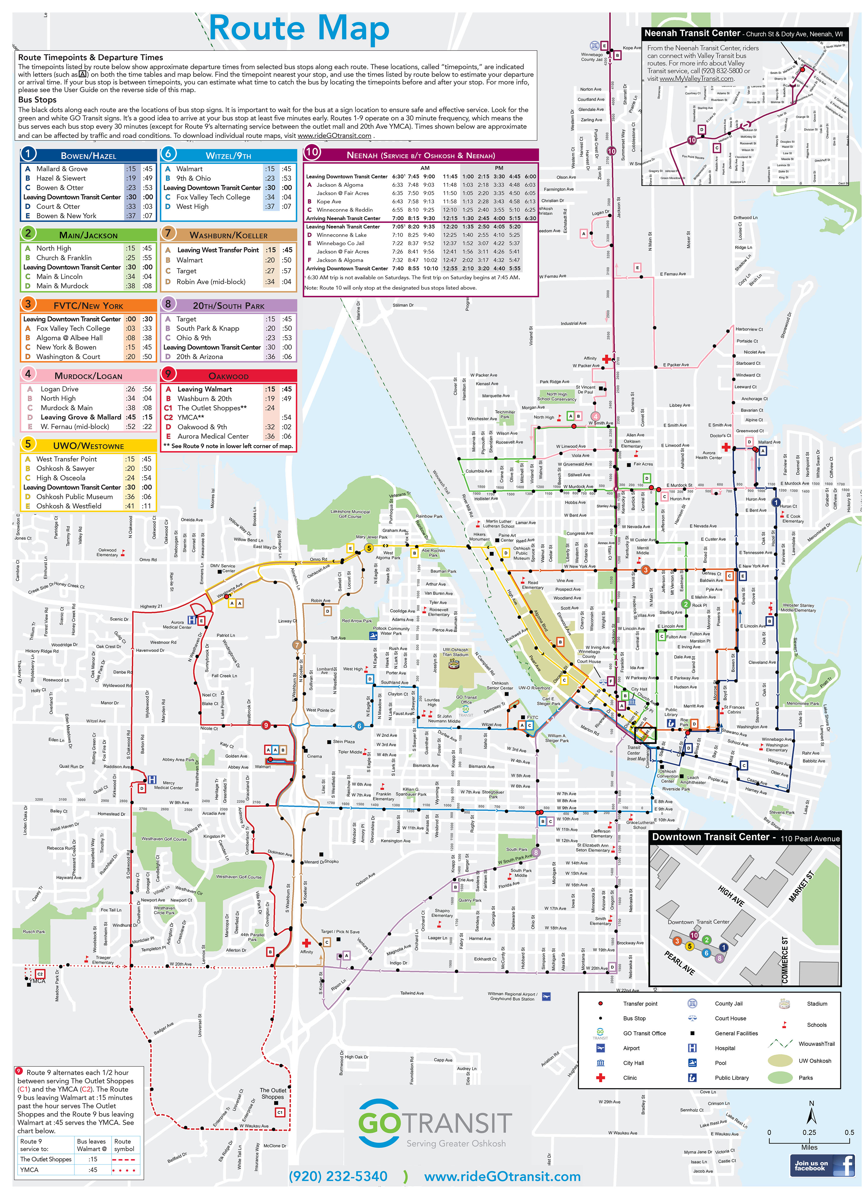 Transit Maps Experience Mapping